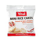 Vital Mini Rice Cakes Sweet & Spicy Pepper 30g