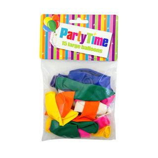 Party Time Large Balloons 70cm 15ea