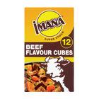 Imana Beef Stock Cubes 12ea