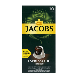Jacobs Espresso Intenso Intensity 10 Coffee Capsules 10s