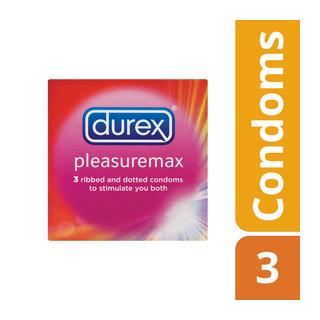 Durex Condoms Pleasuremax X 3