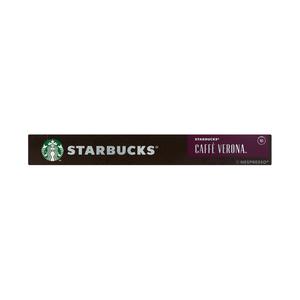 Starbucks® Caffè Verona® by Nespresso® Dark Roast Coffee 10 Capsules