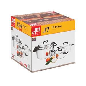 Hart 10 Piece Cookware Set J7