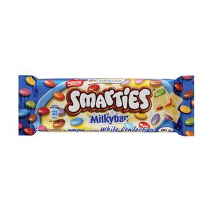 Nestle Smarties Milky Bar Slab 80g