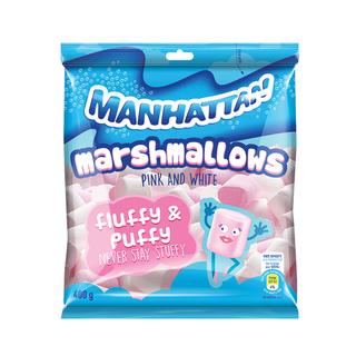 Manhattan Pink & White Mallows 400g