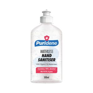 Puridene Waterless Hand Sanitiser 500ml
