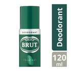 Brut Original Body Spray Deodorant 120ml x 6