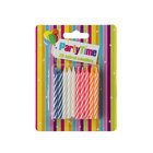 Party Time Spiral Birthday Candles 20s