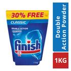 Finish Dishwash Powder Pouch  1kg + 300g Free