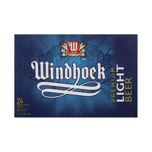 Windhoek Light Beer NRB 330ml x 24