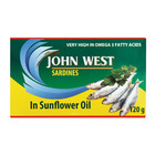 John West Sardines In Sunflo wer Oil 120g