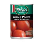 Rhodes Whole Peeled Tomato 410g