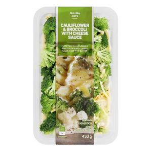 PnP Cauliflower & Broccoli With Cheese Sauce 450g
