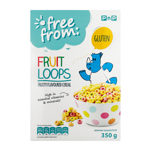 PnP Free From Fruit Loops Cereal 350g