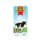 First Choice Long Life Full Cream Milk  1l x 12
