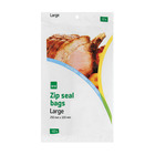 PnP Food Bags Zip Seal Large 10ea