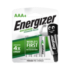 Energizer Recharge AAA Batteries 4s