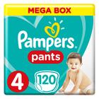 PAMPERS PANTS MEGA BOX SIZE4 120EA