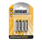 Eveready Powerplus Gold AAA Batteries 4s