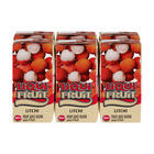 LIQUI-FRUIT FRUIT JUICE LITCHI 160ML x 6