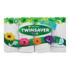 Twinsaver Toilet Roll 1ply White 8ea