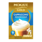 Mokate Gold Reduced Sugar Cappuccino 18g x 10