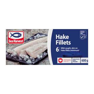 Sea Harvest Hake Fillets 600g