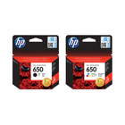 Hp 650 Tri Colour Cartridgr Blister Pack