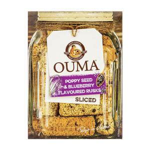 Ouma Rusks Sliced Poppy Seed & Blueberry 450g