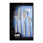 O2 16 Piece Bistro Cutlery Set