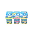 Danone Nutriday Smooth Vanilla Yoghurt 6x100g