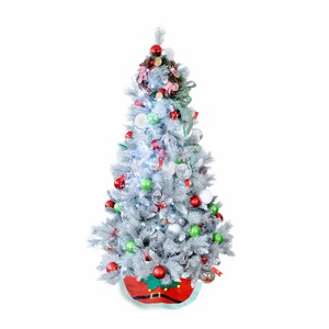 Christmas Tree Decorated 1.8m Forest Grey