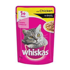 Whiskas Pouch Chicken In Gravy 85g