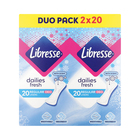 Libresse Panty Liners Norm Scented 40ea