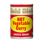 Gold Dish Hot Vegetable Curry 415g