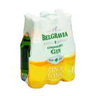 Belgravia Gin & Tonic Spirit Cooler 275ml x 6