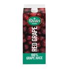 Rhodes Fruit Juice Red Grape 2l