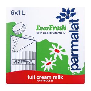 EverFresh UHT Full Cream Milk 1l x 6