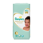Pampers Premium Care Nappies Size 4 Maxi 7-18kg 52s