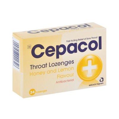 Cepacol Honey & Lemon Lozeng es 24 | each | Unit of Measure