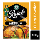 Rajah Curry Powder Medium 100g x 10