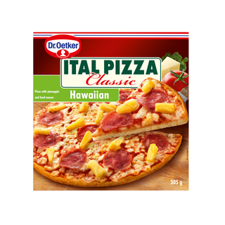 Ital Frozen Hawaiian Pizza