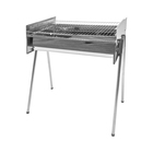 GRILL CHEF ADJ S/S CHARCOAL BRAAI LARGE