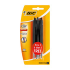 BIC Clic Medium 3 + 2 Free Black