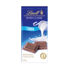 Lindt Swiss Classic Milk Chocolate Slab 100g