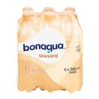 Bonaqua Litchi Flavoured Sparkling Water 500ml x 6