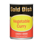 Gold Dish Vegetable Curry Ch Oice Grade 415g