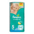 Pampers Active Baby Nappies Junior Jumbo Pack 52s