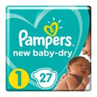 Pampers New Baby Size 1 Carry Pack, 27 Nappies