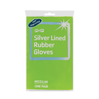 PnP Silver Lined Rubber Glove Medium